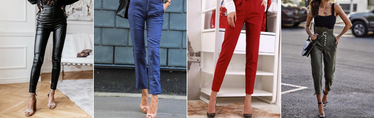 HIT! Te spodnie wyszczuplają! Trendy w modzie w Domodi