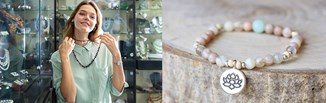 HOT TREND 2021: biżuteria z kamieni. Zobacz, jak nosić modne naszyjniki, bransoletki i kolczyki!