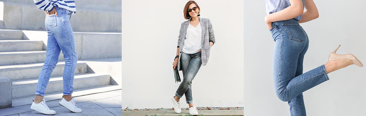 Jak dobrać jeansy do figury? Przewodnik po fasonach, które idealnie dopasujesz do swojej sylwetki