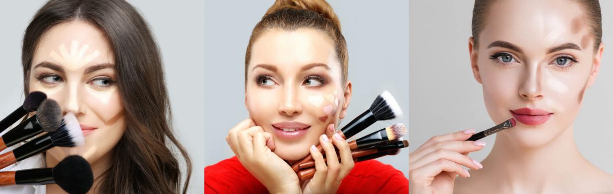 Jak konturować twarz - zobacz największy przewodnik krok po kroku dla różnych typów twarzy