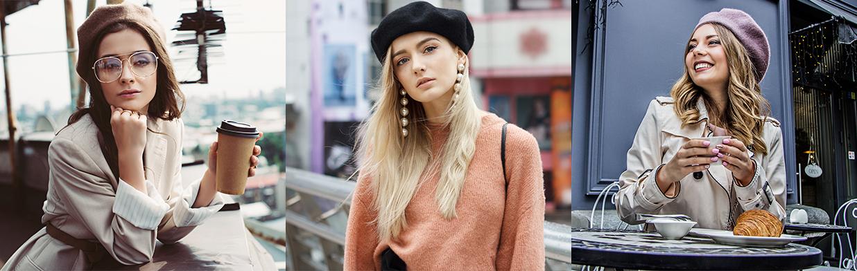 Jak nosić beret damski, aby wyglądać modnie i stylowo? Poznaj nasze porady i pomysły na stylizacje!