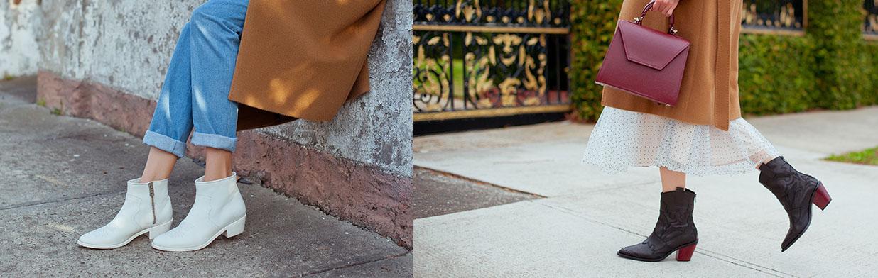 Jak nosić botki kowbojki tej jesieni? Zobacz stylizacje!