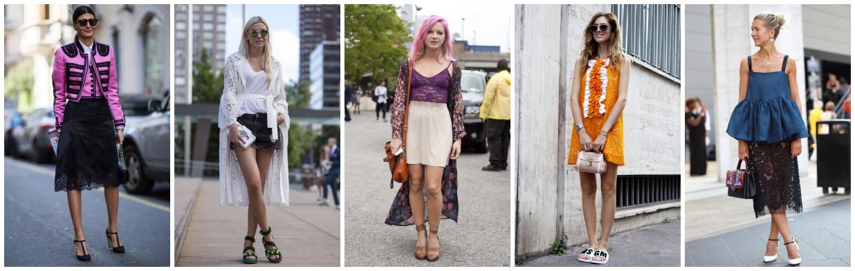 985034cfcd Jak nosić koronkowe ubrania latem  - Trendy w modzie w Domodi