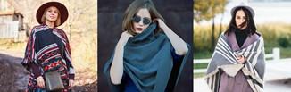 Jak nosić ponczo damskie, aby wyglądać stylowo? Oto nasze pomysły na stylizacje z modną narzutką!