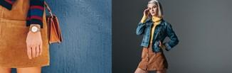 Sztruksowa spódnica w modnych stylizacjach na różne okazje. Zobacz, jak ją nosić!