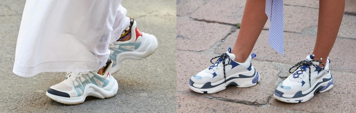 "Ugly shoes - kultowe sneakersy w stylizacjach. Jak nosić buty ""dad sneakers""? Poznaj fenomen modelu"