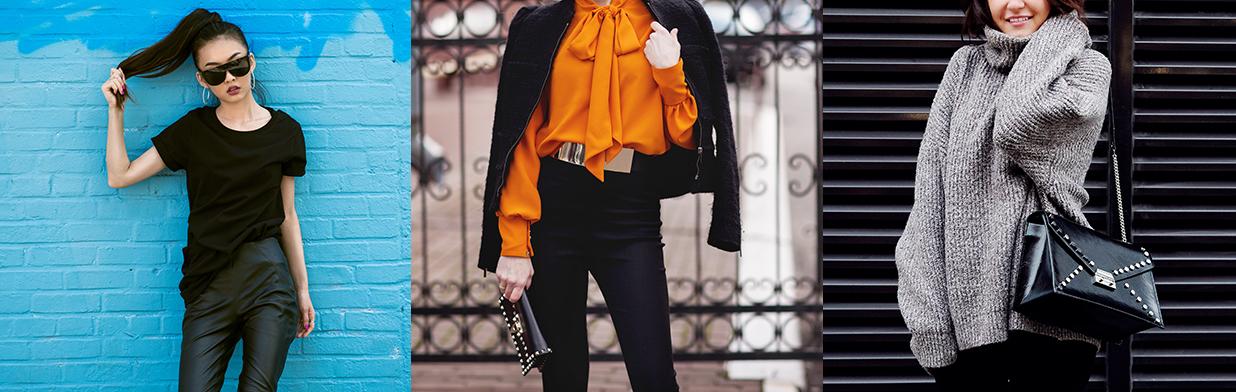 Jak tworzyć stylizacje z czarnymi spodniami na różne okazje? Sprawdź, co do nich pasuje