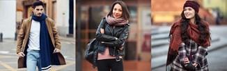 Jak wiązać szalik? Odkryj modne sposoby na wiązanie szala w damskich i męskich stylizacjach