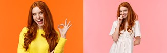 Jaki kolor pasuje do rudego? Odkryj modne stylizacje dla rudowłosych kobiet!