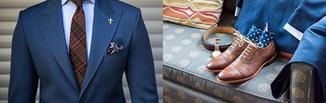 Jakie buty do granatowego garnituru? Brązowe, czarne, a może w innym kolorze? Sprawdź!