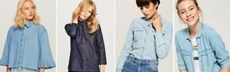 Top 5 stylizacji z koszulą jeansową damską