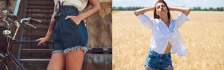 Jeansowe szorty w stylizacjach na wiosnę i lato 2021. Modne fasony, dodatki i pomysły na outfit