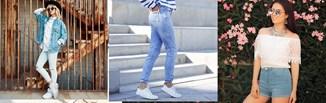 Jeansy w stylizacjach na wiosnę i lato 2021. Jak modnie nosić denimowe spodnie w tym sezonie?