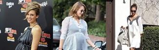 Jessica Alba i jej najlepsze ciążowe stylizacje