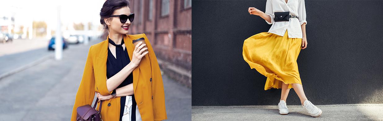 Kolor musztardowy - z czym łączyć, aby stworzyć modną stylizację? Sprawdź!