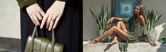 Kolor oliwkowy - jak nosić modną ciemną zieleń? Sprawdź nasze pomysły na ubrania i dodatki w odcieni