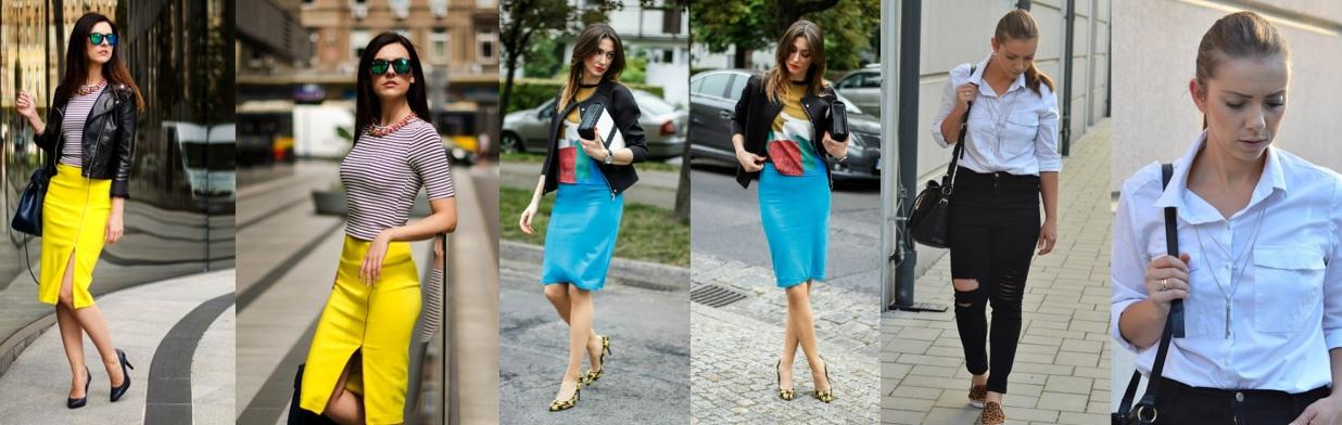 Modny look: kontrastowe kolory