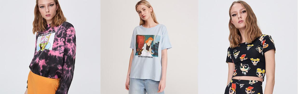 Koszulki i bluzy z postaciami z bajek - najciekawsze propozycje sieciówek i marek