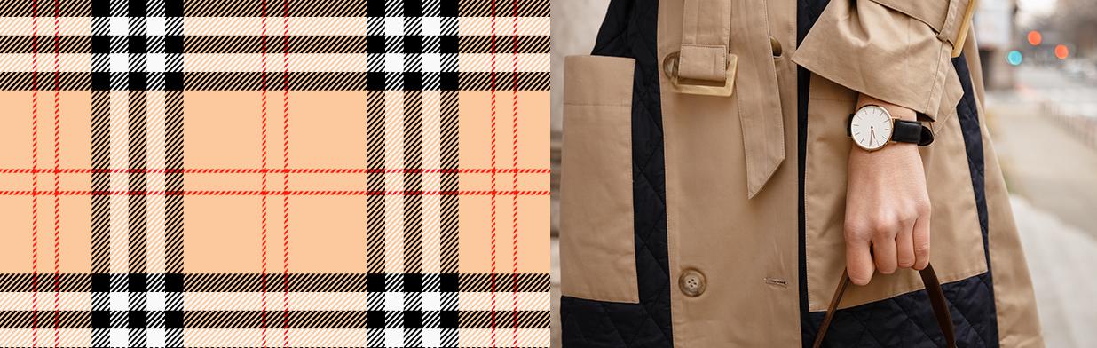 Kratka Burberry - historia luksusowej kraty, która podbiła świat mody. Sprawdź, jak ją nosić!