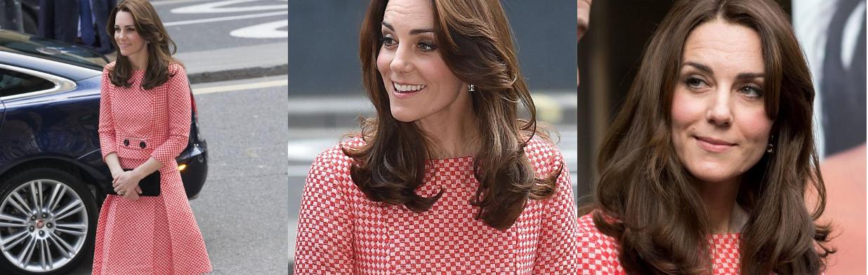 Tak księżna Kate prezentuje się w trzeciej ciąży!