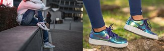 Kultowe modele butów damskich Nike w czterech  stylizacjach - poznaj trend z Instagrama