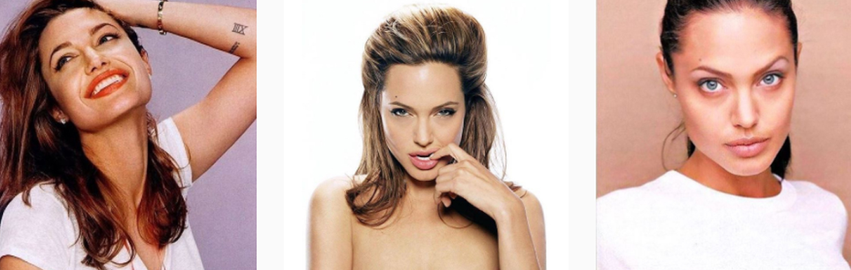 Makijaż w stylu Angeliny Jolie