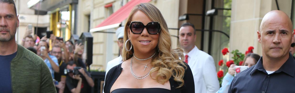 Ta sukienka Mariah Carey zaraz eksploduje!