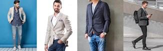 Marynarka męska do jeansów - jaką wybrać? Odkryj najmodniejsze stylizacje z marynarką i dżinsami!