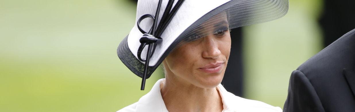 Księżna Meghan na wyścigach w Ascot!
