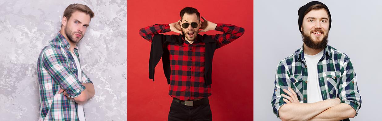 Męska koszula w kratę jak ją nosić? Odkryj modne  d3Sg1