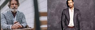 Męski garnitur w kratę – stylizacje eleganckie i smart casual, które wykorzystasz na różne okazje