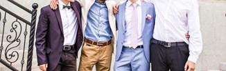 Męskie stylizacje na wesele - jak się ubrać na tę uroczystość? Podpowiadamy!