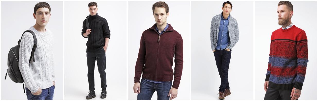 Męskie swetry z wyprzedaży