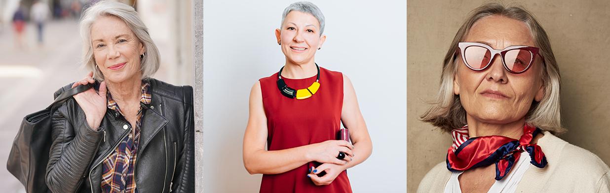 Moda dla 60-latki - gustowne stylizacje dla pań po sześćdziesiątce