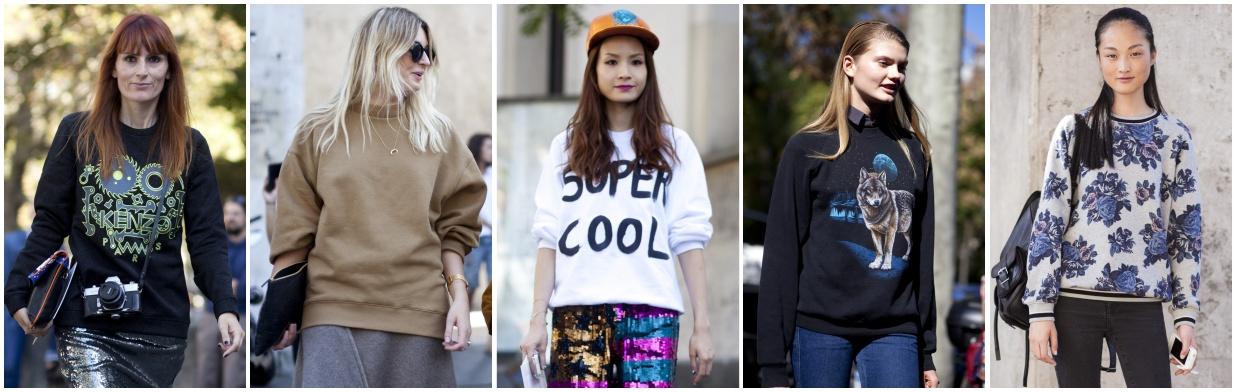 Jak nosić bluzę z kapturem? Trendy w modzie w Domodi