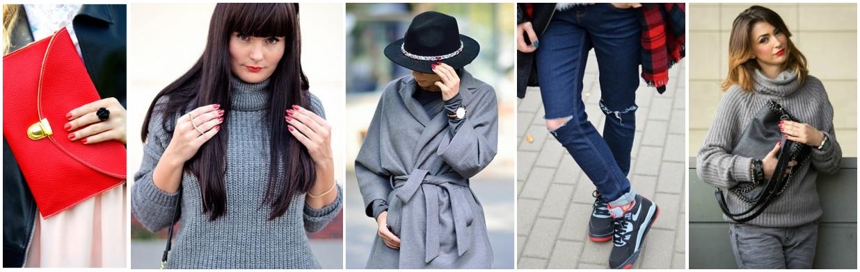 Modne paznokcie na jesień 2015 Trendy w modzie w Domodi