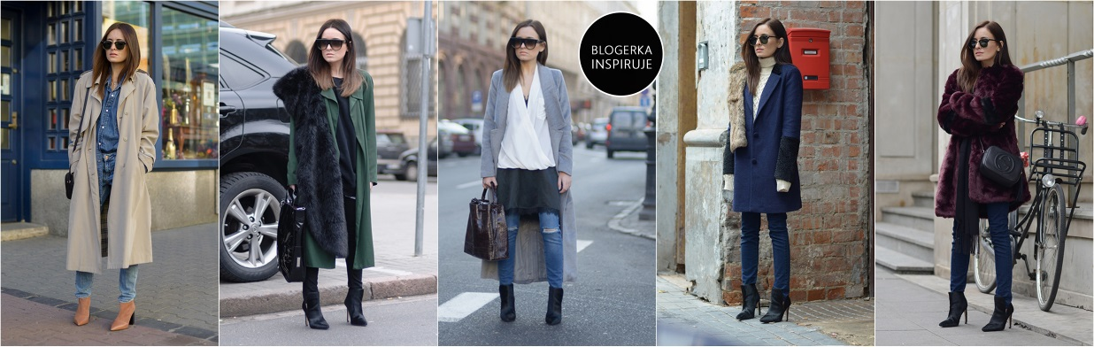 Modne płaszcze według blogerki!