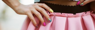 Modny manicure na wiosnę 2019