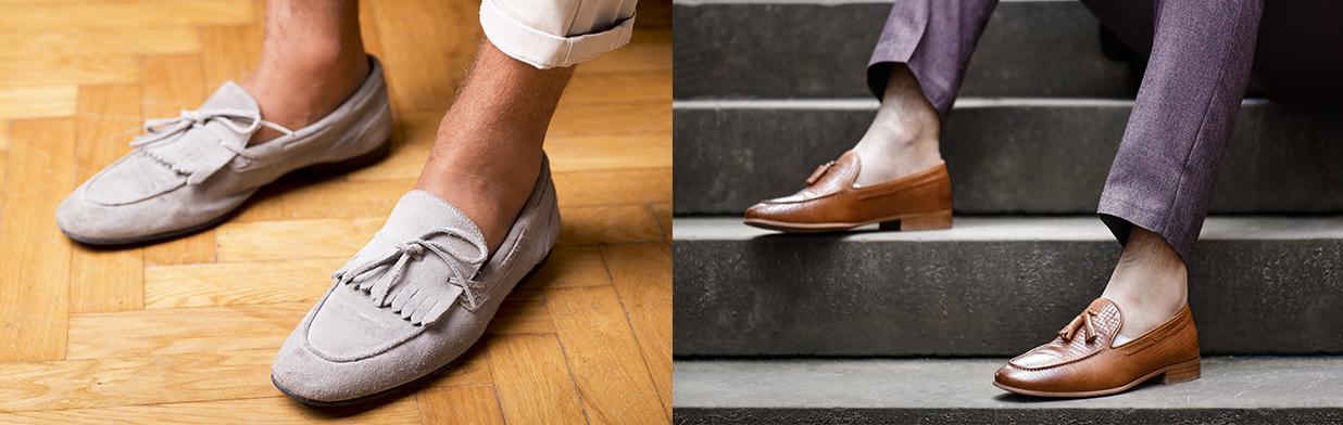 Mokasyny męskie w stylizacjach - jak je nosić? Z czym zestawiać mokasyny i na jaką okazję pasują?