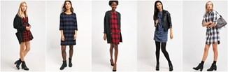 Must have na zimę: sukienka w kratę