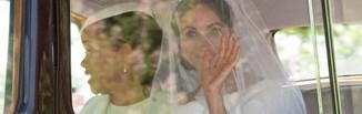 Najlepsze kreacje ze ślubu Meghan i Harrego!
