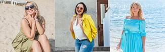 Najlepsze stylizacje na lato dla kobiet plus size, czyli jak się modnie ubierać, nosząc rozmiar 44