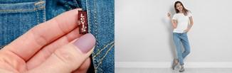 Najmodniejsze fasony kultowych spodni jeansowych Levi's. Jak noszą je influencerki?