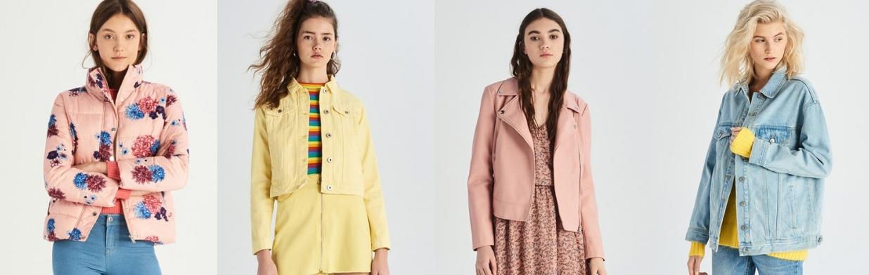 146e085d4b014 Najmodniejsze kurtki wiosenne damskie 2019 - Trendy w modzie w Domodi