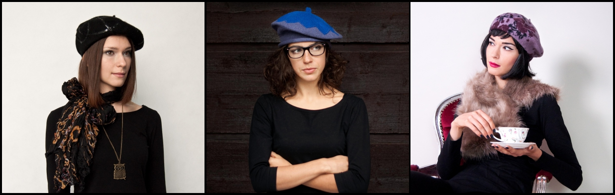 Najmodniejsze nakrycie głowy - beret