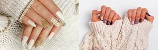 Najmodniejsze paznokcie na zimę 2020/2021 - pomysły na zimowy manicure, który zrobisz sama w domu!