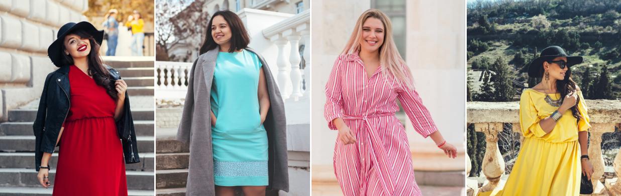 Najmodniejsze sukienki dla puszystych 2020 - jaki model sukienki XXL wybrać?