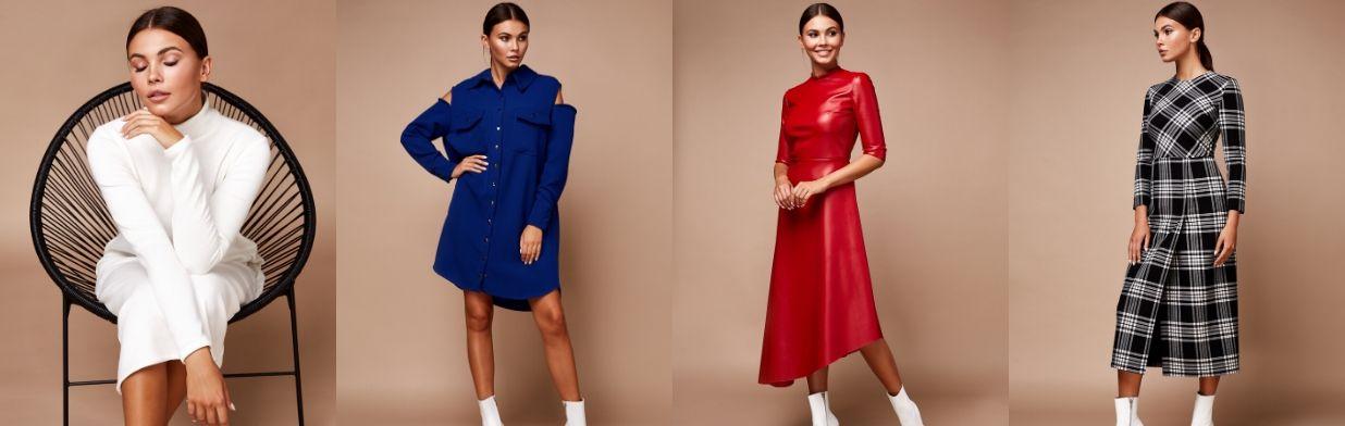 Najmodniejsze sukienki na jesień i zimę 2019/2020. Te modele to hit!