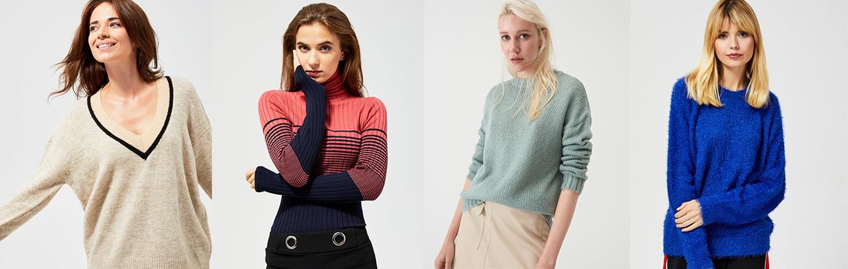 Najmodniejsze sweterki na jesień 2020 do 50 zł - zobacz stylowe propozycje z sieciówek!