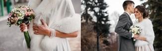 Najpiękniejsze okrycia wierzchnie do sukni ślubnej - 5 modnych propozycji dla panny młodej